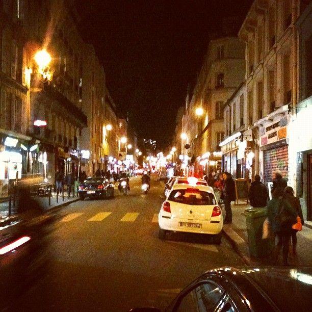 Rue Oberkampf in Paris, Île-de-France-Oberkampf\'s southern ...