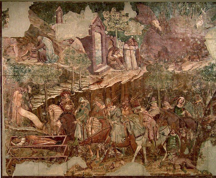 Buonamico di Buffalmacco, Camposanto trionfo della morte Triomf van de dood, Pisa