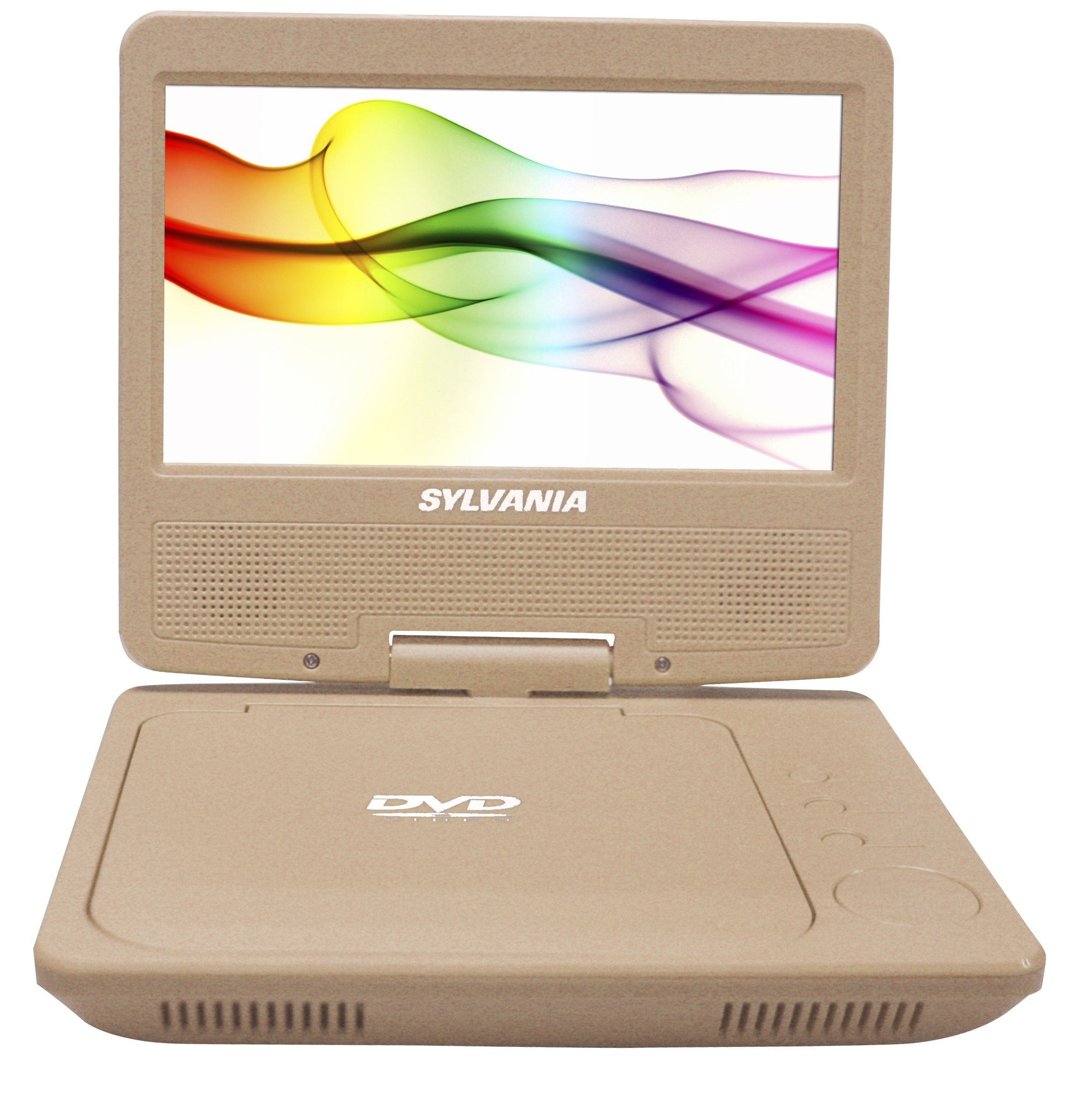 Sylvania Sdvd7027 C Gold 7 Quot Portable Dvd Player Swivel Screen Gold Portable Dvd Player Dvd Player Dvd