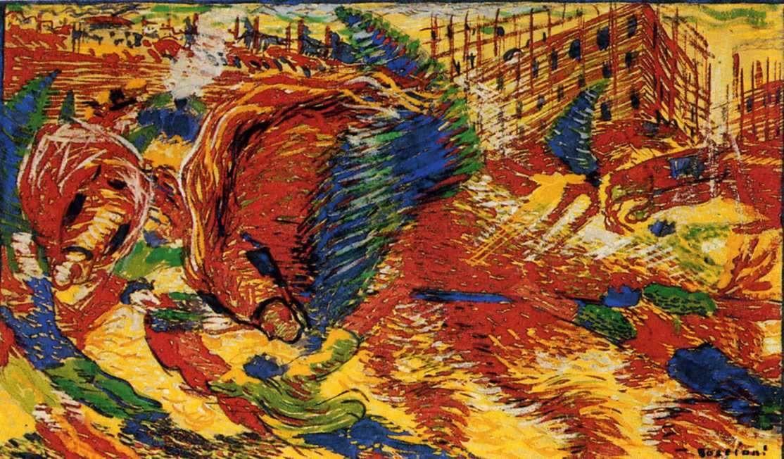 Boccioni Futurism Umberto Boccioni: The ...