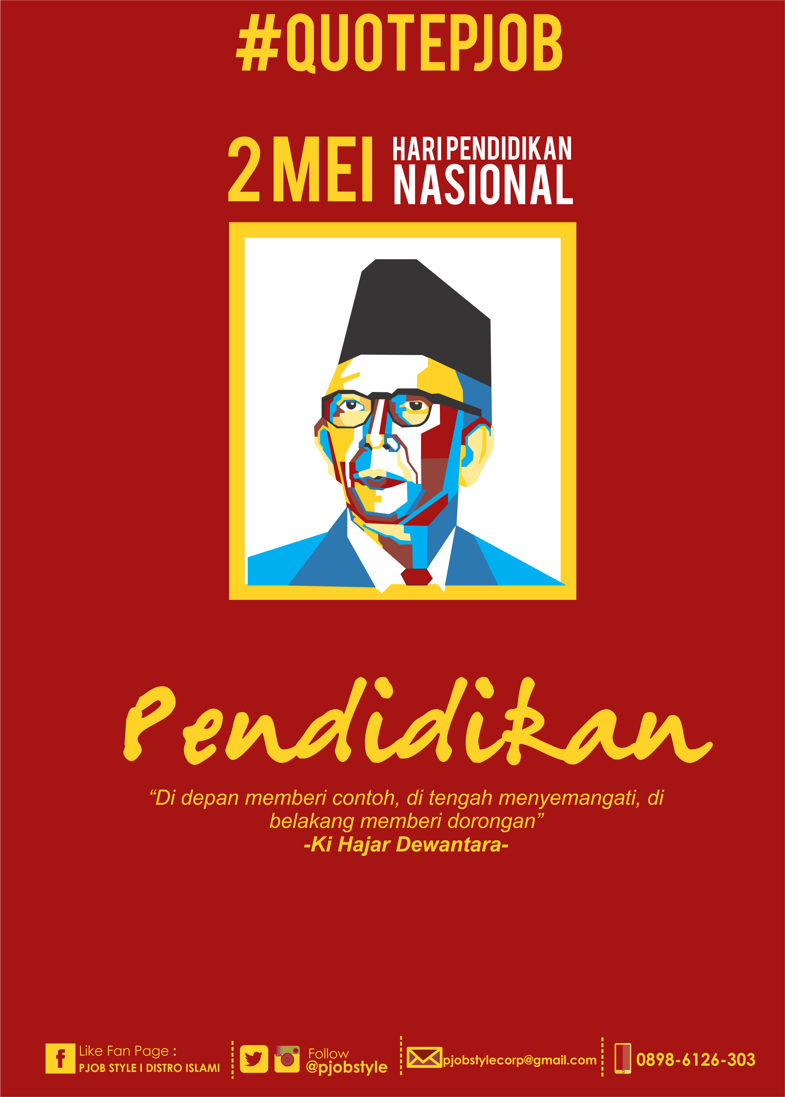 Logo Hari Pendidikan Nasional : pendidikan, nasional, QUOTEPJOB, Selamat, Pendidikan, Nasional, Semoga, Indonesia, Makin, Melahirkan, Generasi, Teladan, Dunia