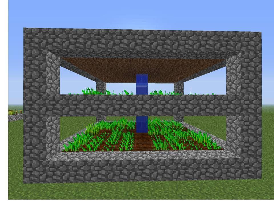 Como Hacer Un Huerto En Minecraft. \