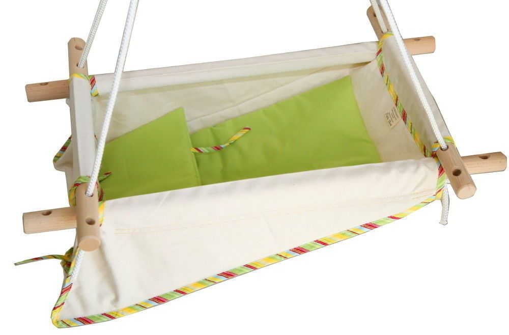 jako o petite planete zebulhamac babyschaukel h ngematte babywiege gr n wie neu baby. Black Bedroom Furniture Sets. Home Design Ideas