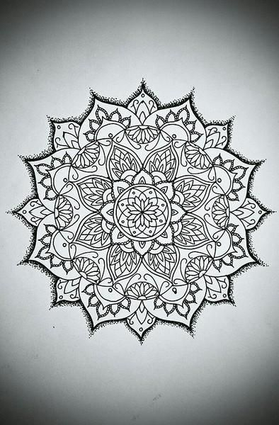 Maybe on the back of my hand ) 10 Mandala Designs For Your - schöne schlafzimmer farben