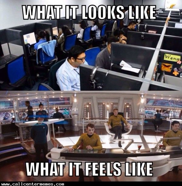 Working With Your Team In A Call Center Call Center Humor Work Humor Work Memes