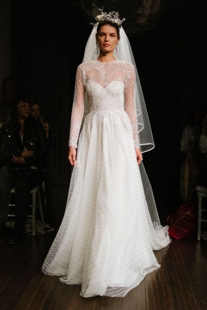 The Best of Bridal Fashion Week | The Naeem Khan Washington gown