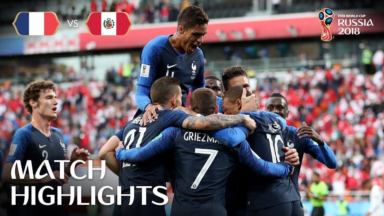 France V Peru 2018 Fifa World Cup Russia Match 21 Youtube Copa Del Mundo Deportes Rusia