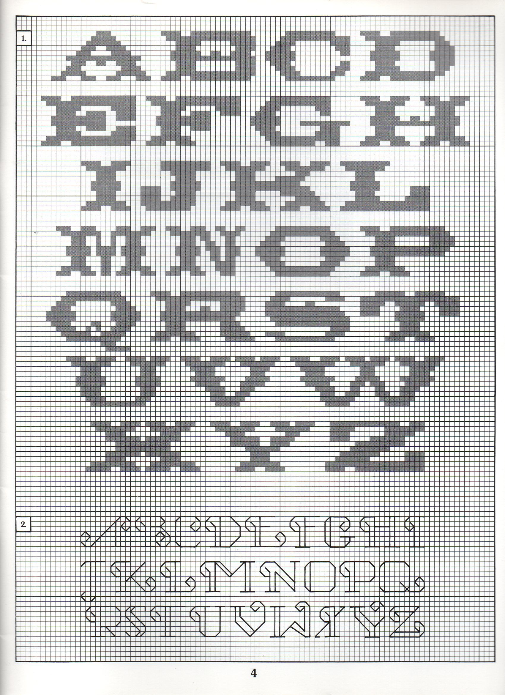 Cross Stitch Alphabet Patterns Interesting Decorating