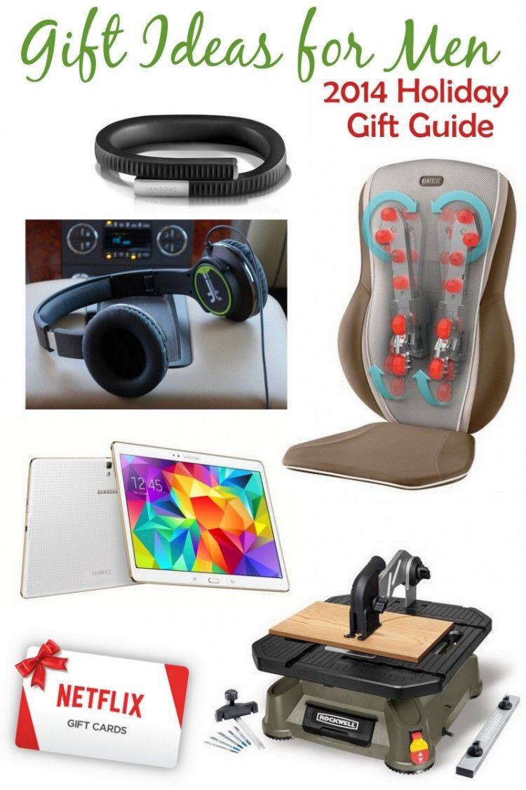 Great Gift Ideas for Men – 2014 Gift Guide | Holiday gift guide ...