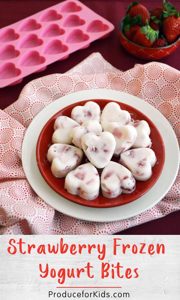 Strawberry  Yogurt Bites  Produce For Kids Strawberry  Yogurt Bites  Produce For Kids