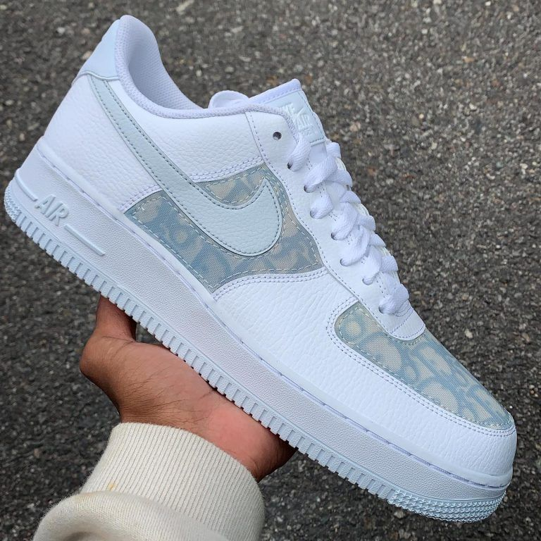 Dezinedope dior af1 low blue in 2020 Hype shoes, Fresh