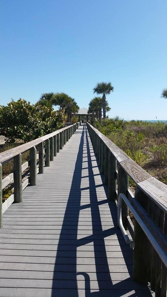 The boardwalk on Englewood Beach! | Englewood beach
