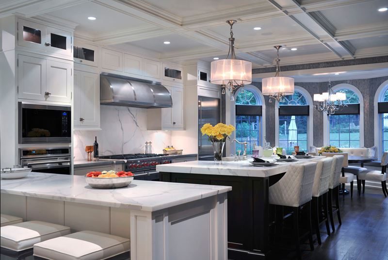 Contrasts In Harmony  Kitchen Gallery  Subzero & Wolf Simple Kitchen Design Applet Review