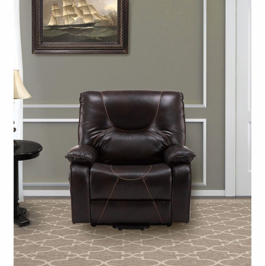 big man lift chair french dining parker house handel s rec lay flat in sumatra color mhan 812l2hd sum