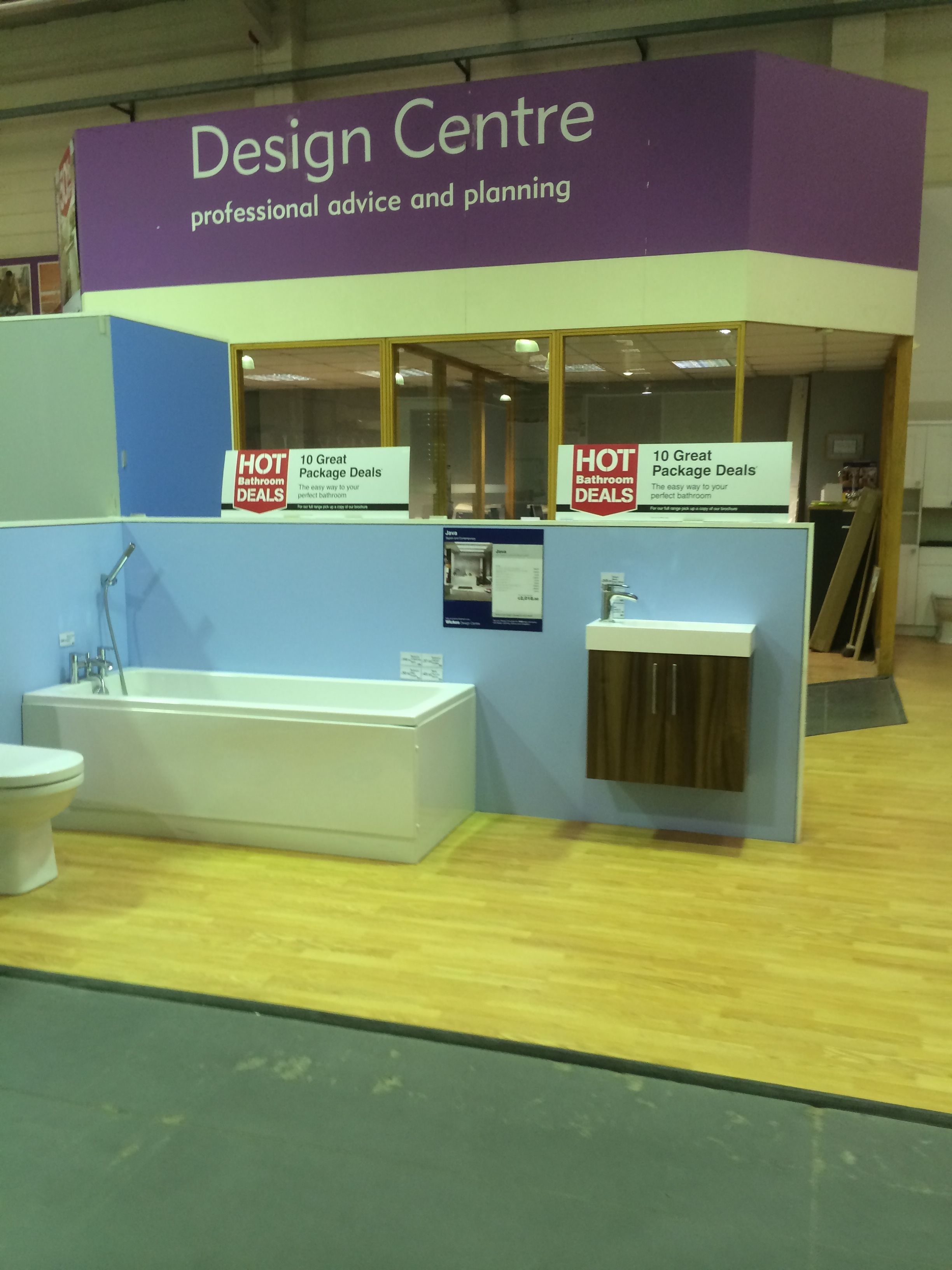 Wickes Chilwell DIY Home Improvements Layout
