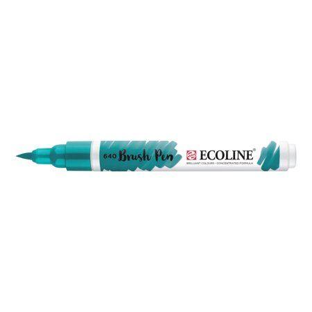 Ecoline Liquid Watercolour Brush Pen Bluish Green Brush Pen