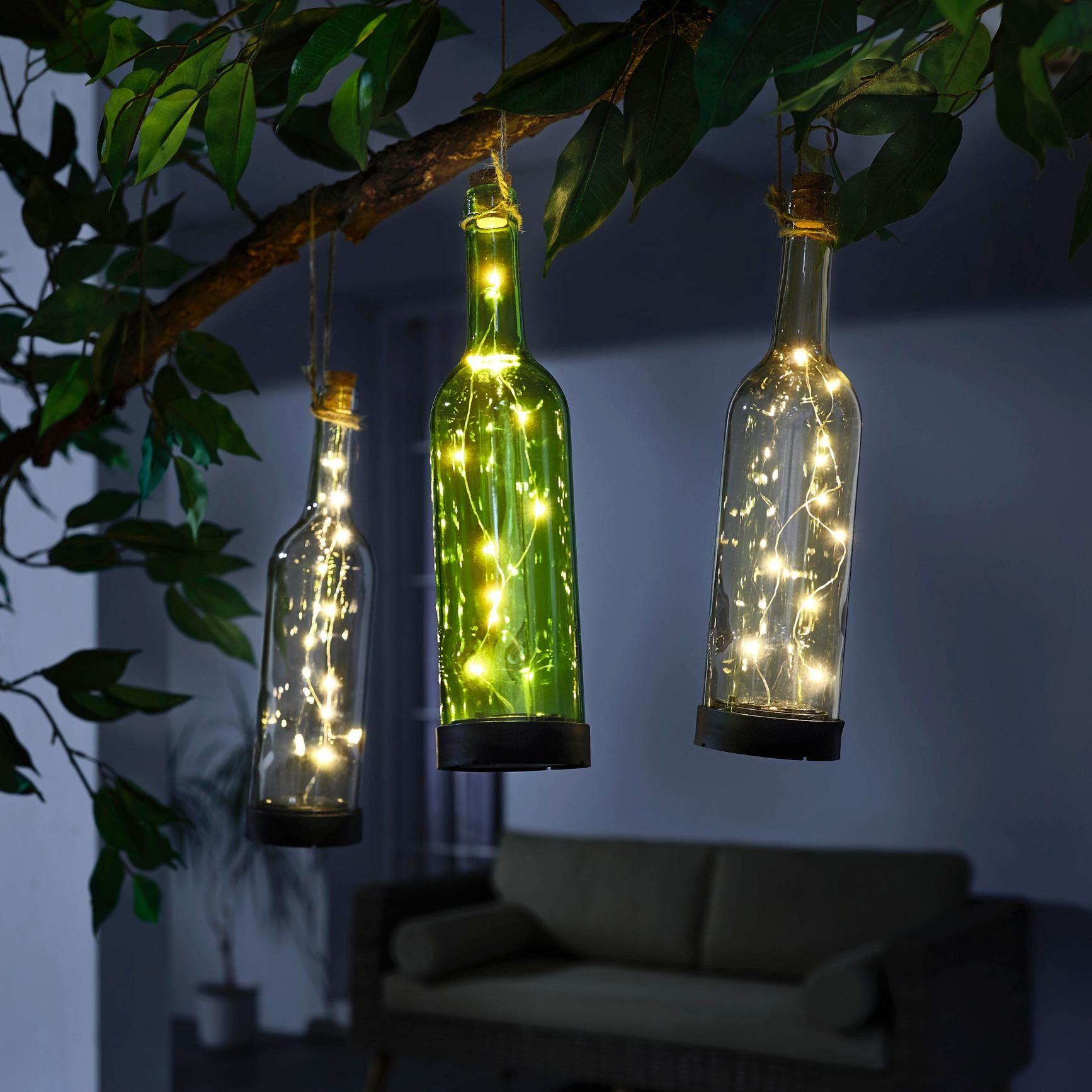 Solarleuchte Bottle Aus Glas Online Kaufen Momax Solarleuchten Balkon Lampe Lampen