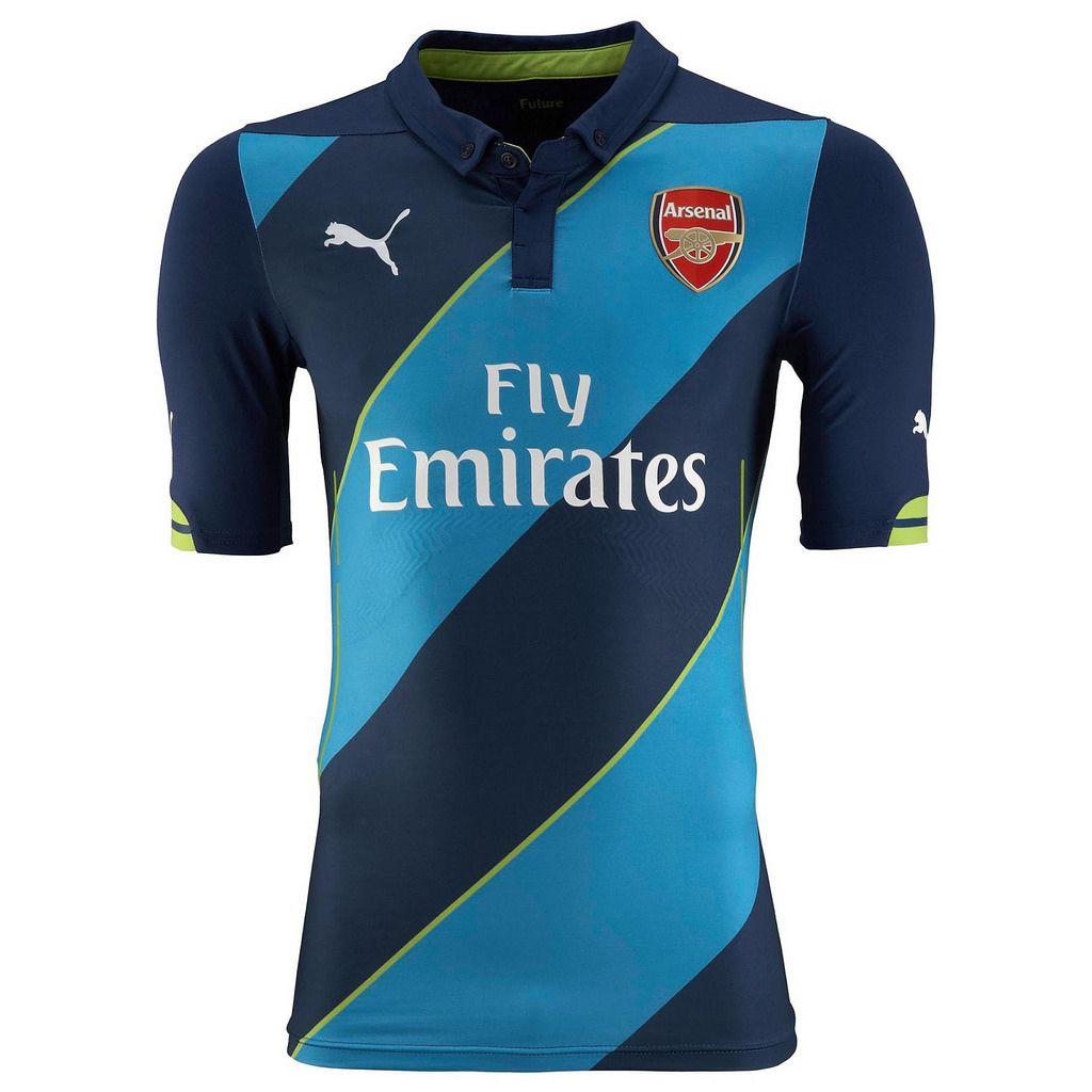 PUMA Arsenal 3rd Kit 2014/2015