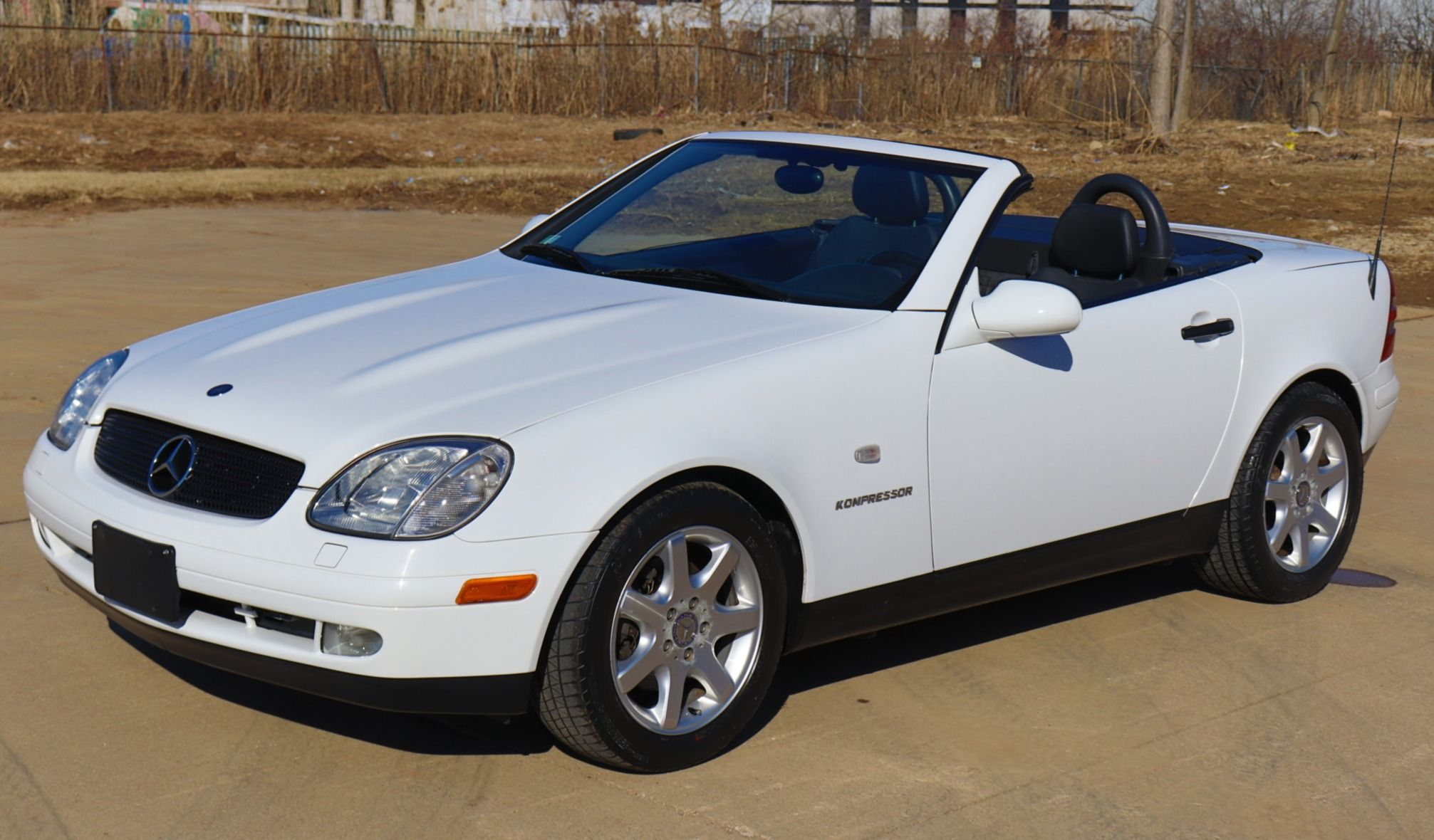 No Reserve 31k Mile 2000 Mercedes Benz Slk230 Mercedes Benz