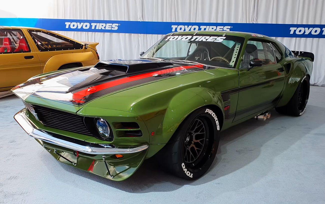 Hardcore 1970 Ford Mustang Boss 427 Racecar by Ruffian Cars >>> Read more