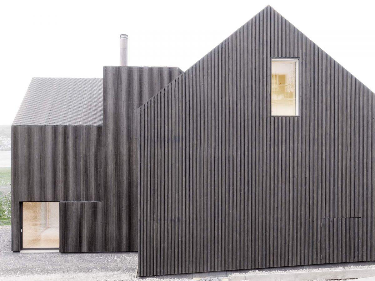 Rossetti wyss architekten gottshalden for Modernes haus zurich