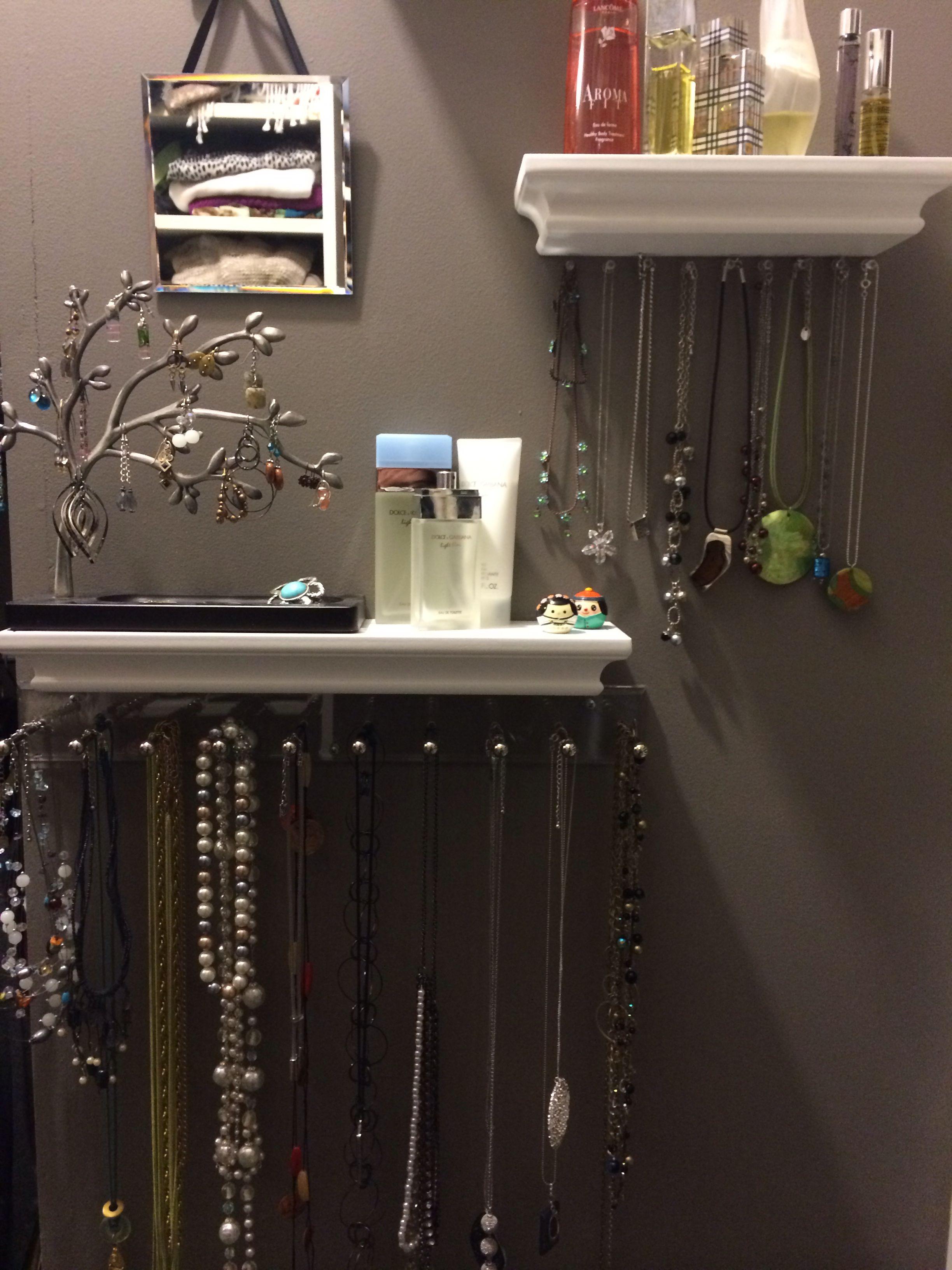 My New Jewelry Organizer Wall Jewelry Organizer Wall