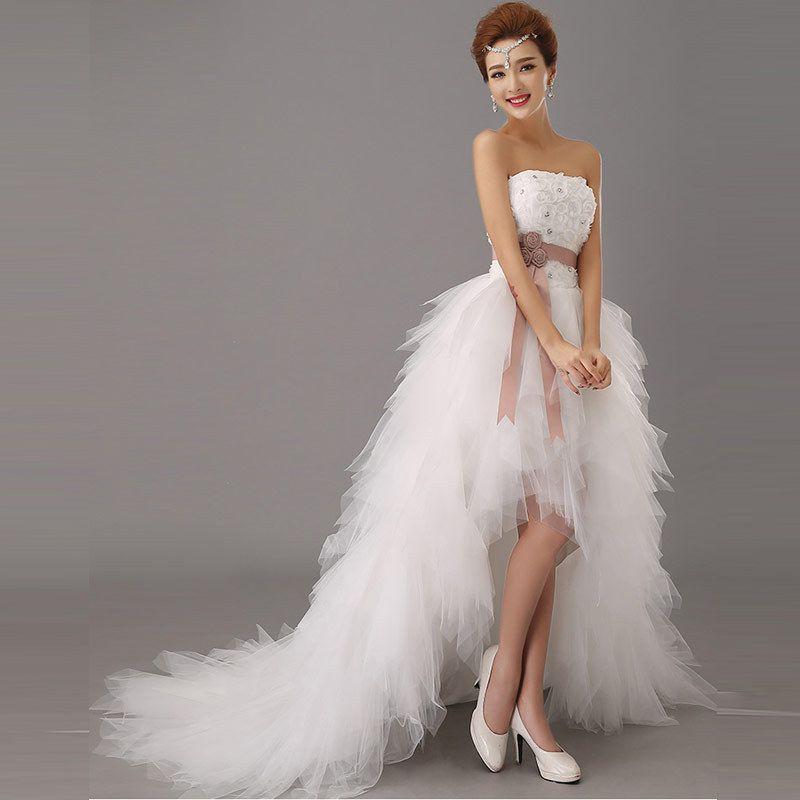 Hermosa Vestido De Boda De Bajo Precio Festooning - Ideas de ...