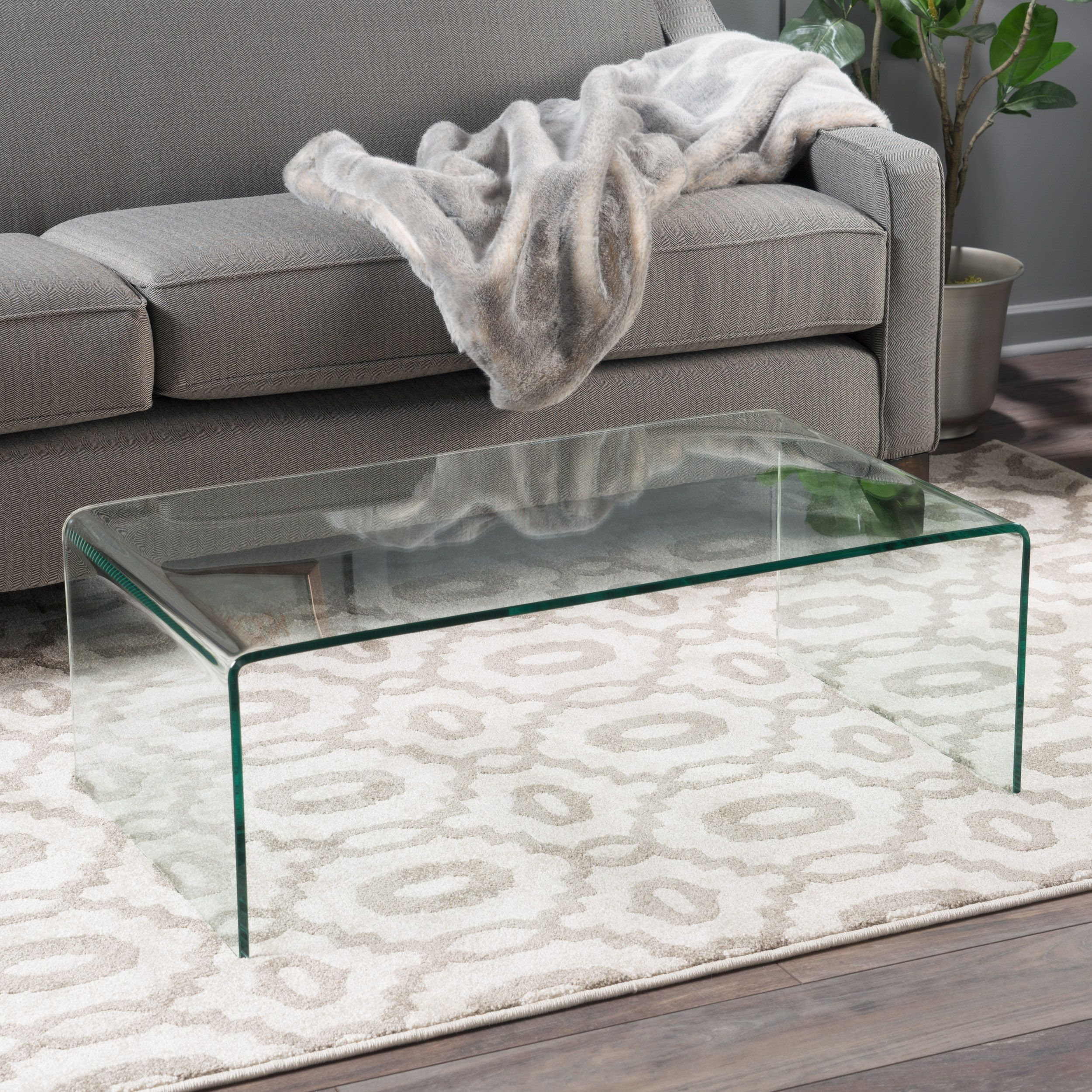 Noble House Roman Tempered Glass Coffee Table Clear Walmart Com Clear Coffee Table Glass Coffee Table Living Table [ 2500 x 2500 Pixel ]