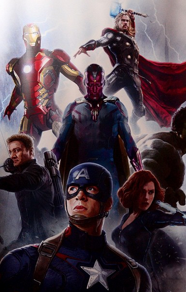 First Look At The Vision in Avengers: Age of Ultron Promo Art