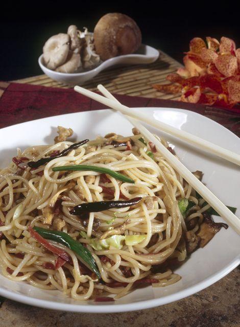 p.f. chang's zodiac noodles | leftover ham recipes