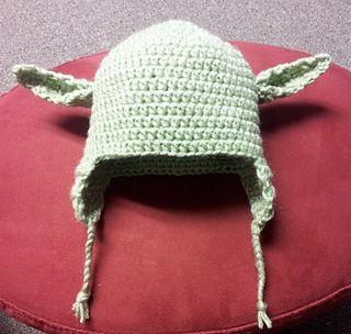 Baby Yoda Hat   Baby yoda hat pattern, Hat pattern ...