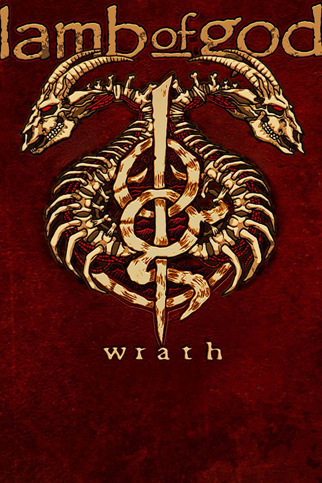 Lamb Of God Wrath Album American Metal Band Hd Red Wallpapers For