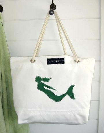 mermaid tote | Wish list | Pinterest | Sirene, Nautico e Cuscini