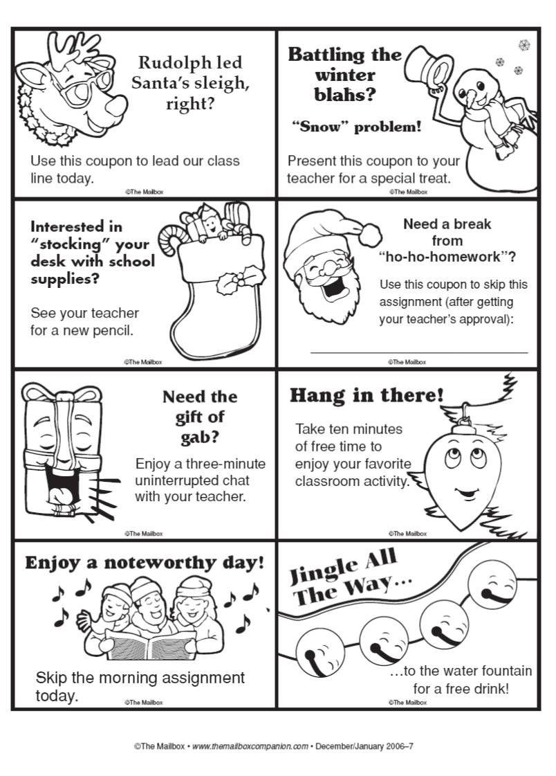 Homework Passes to Print Out | Homework Pass Printables | Teaching ...