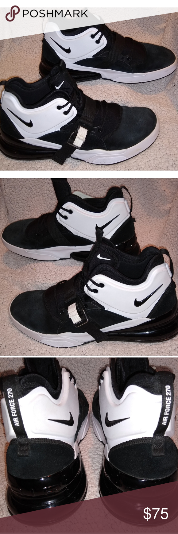Nike Air Force 270 Size 14 Tennis Shoes