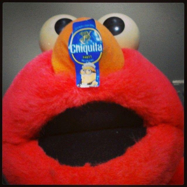 #StickAMinionOnIt #Chiquita #Banana #Elmo #Maid #Minion