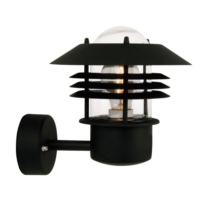 Nordlux vejers outdoor wall light black outdoor lights nordlux vejers outdoor wall light black mozeypictures Gallery