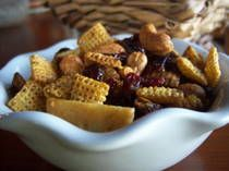 Gluten Free Holiday Snack Mix Recipe Image Teri Gruss