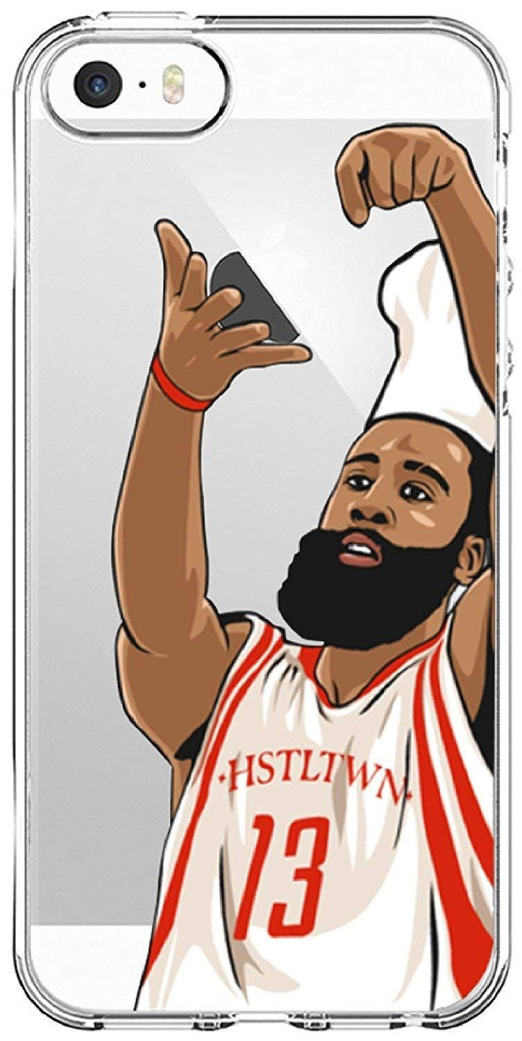 a06d19cd88d8 James Harden Basketball Phone Case Stir It Up NBA Houston Rockets ...