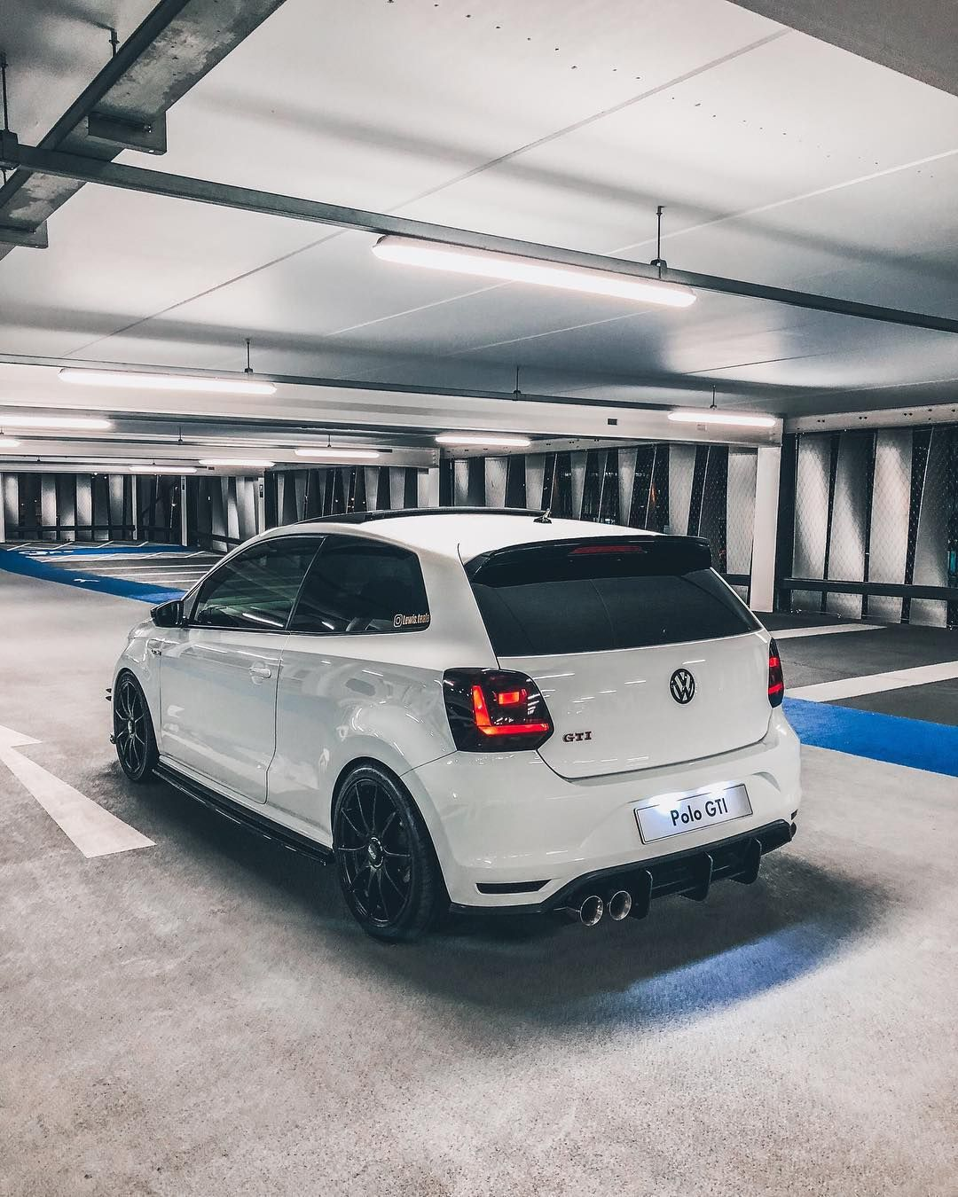 Best Car Park Lighting Ever Polo6cgti Lewis Teale On Instagram Volkswagen Polo Gti Polo Car Vw Polo Gti