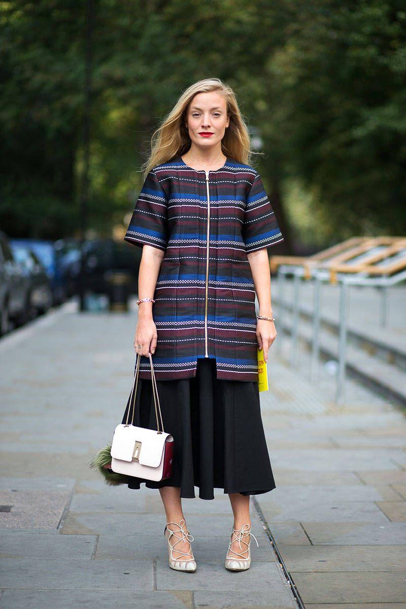 London Fashion Week Street Style Spring 2015 - Kate Foley
