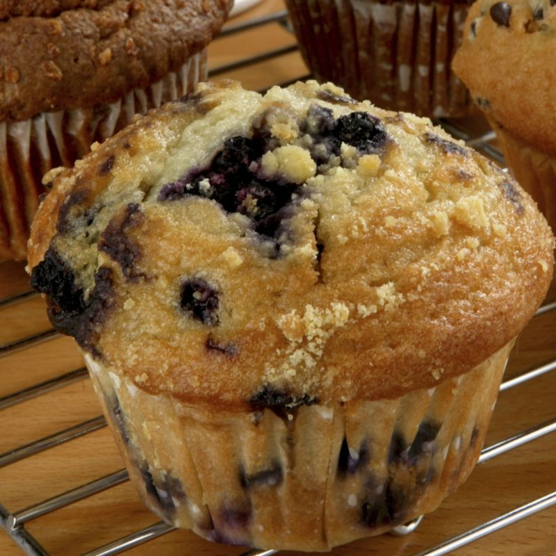 A Simple And Delicious Blueberry Applesauce Muffins Recipe
