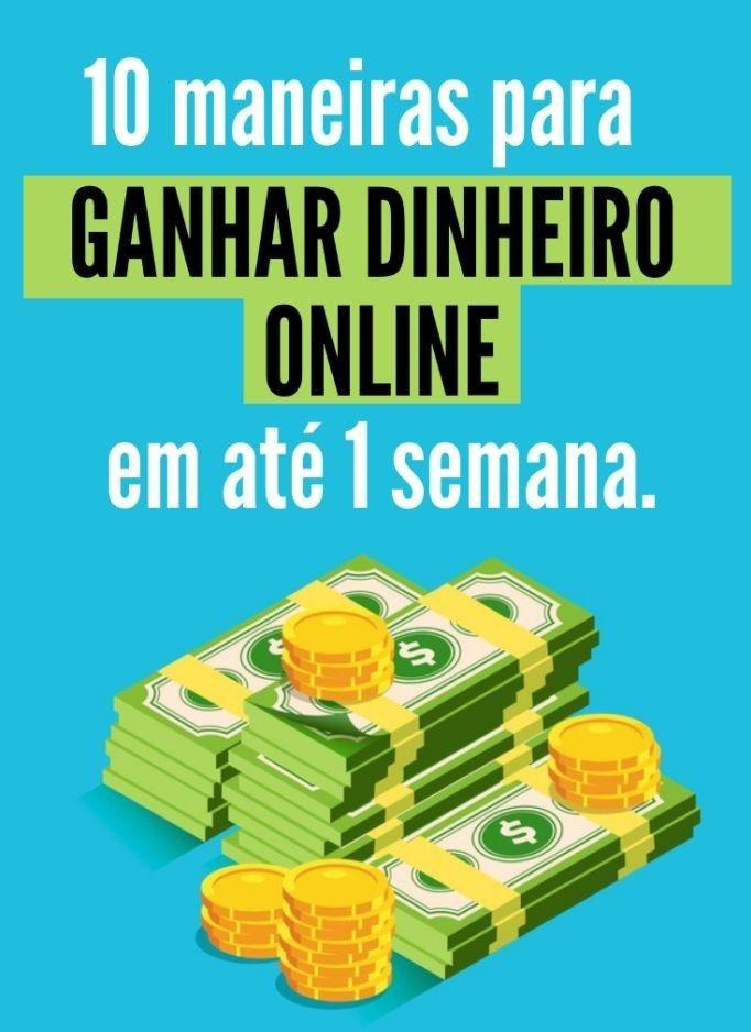 Maneiras de ganhar dinheiro online - Clique no Pi...
