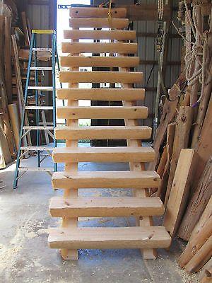 Best Details About Half Log Straight Run Staircase Stairway 400 x 300
