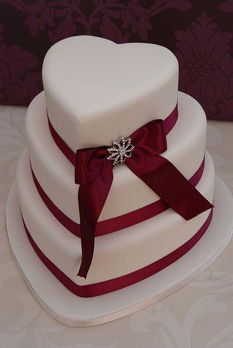 Love Heart Wedding Cake | Flickr - Photo Sharing!