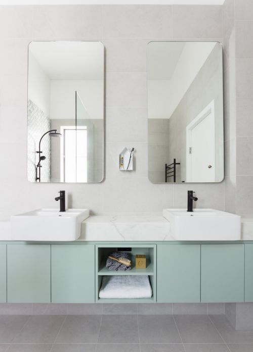 Bathroom Makeover Magazine beautiful bathroom makeover | bespoke vanity | petrina turner