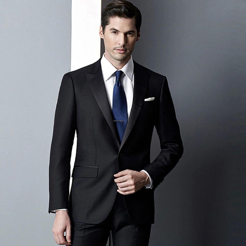 2015 New Design Tuxedo Men Suit 2 Piece Business Suits | CHESTI DE ...