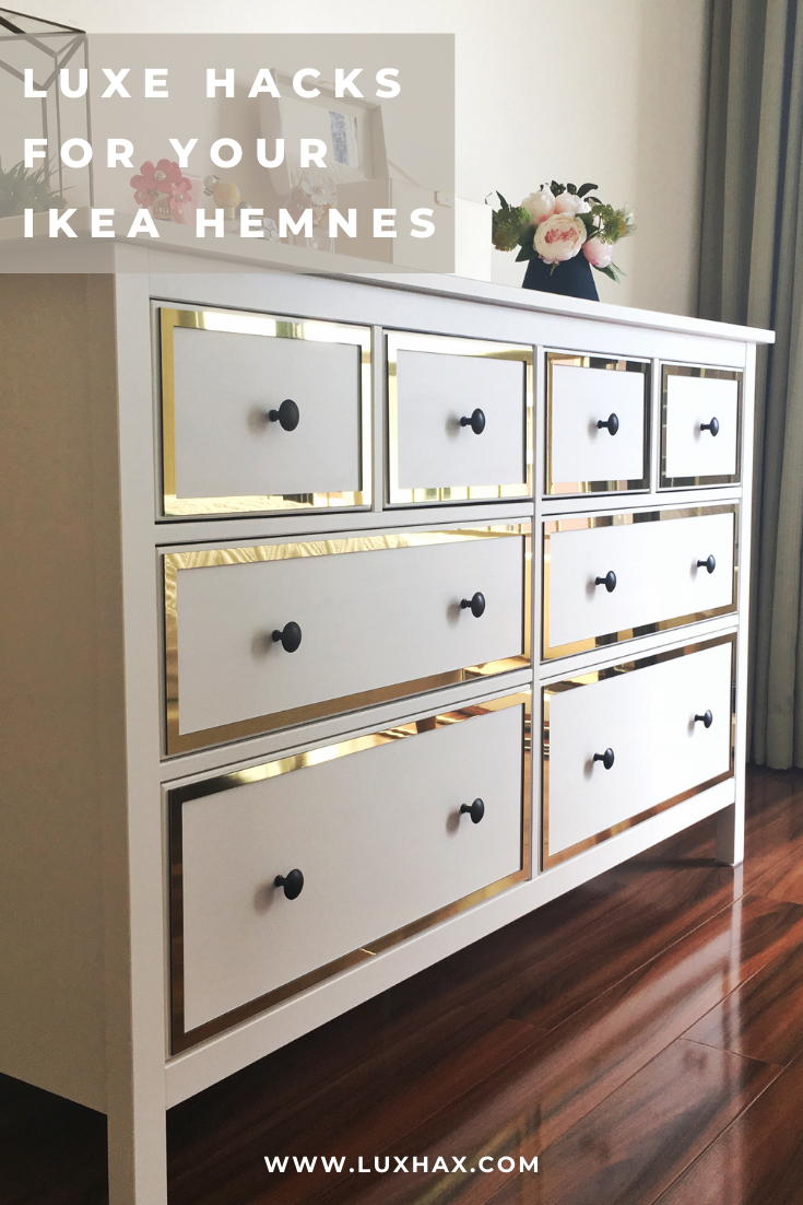 Photo of Make your Ikea Hemnes look like a designer piece!