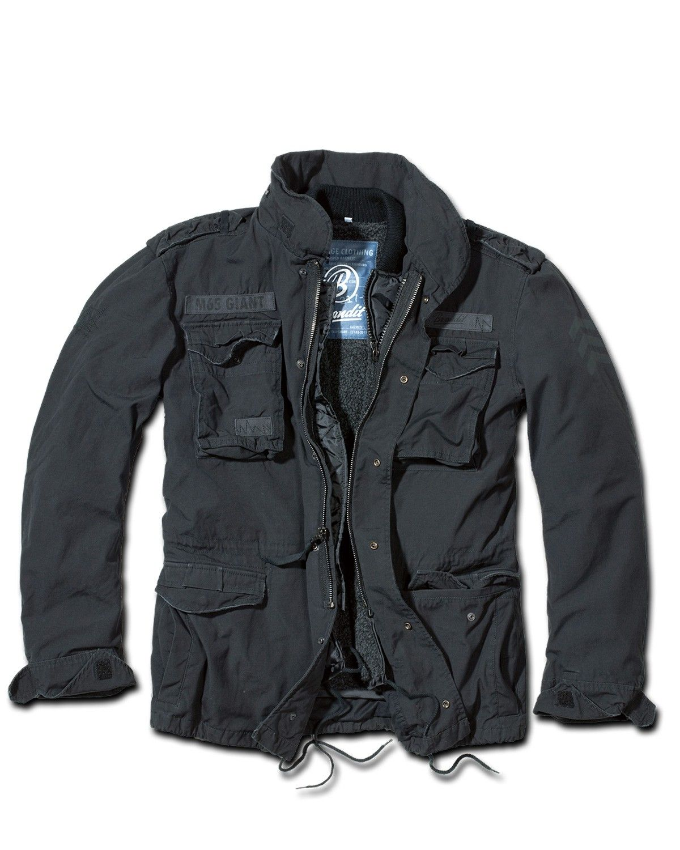 Brandit M65 Giant Jacket Black washed  c3523e130a603
