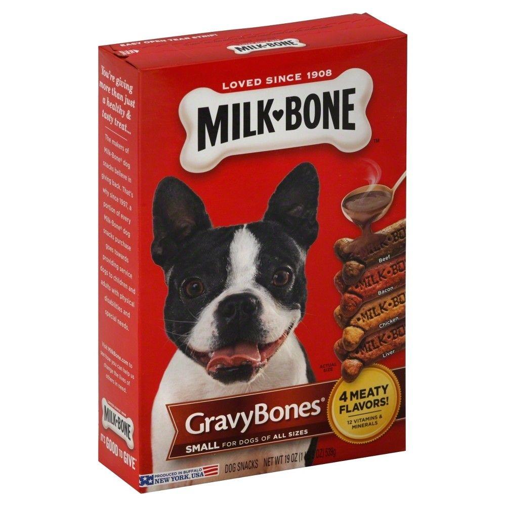 Milk Bone Biscuits Gravy Bones 19oz Dog Snacks Homemade Dog